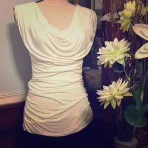 EXPRESS white sleeveless top, NWT